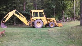 John Deere Backhoe Diesel photo