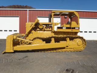 1972 Caterpillar D8h Crawler Dozer Good U/c Machine Great Price photo