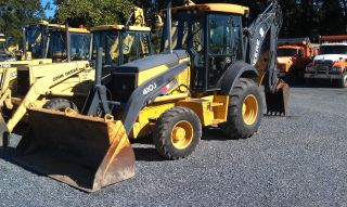 2007 John Deere 410j Backhoe photo