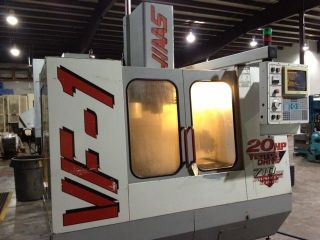 1998 Haas Vf - 1 Cnc Vertical Machining Center 20x16 Mill Ct40 Rigid Tap 4th Ready photo