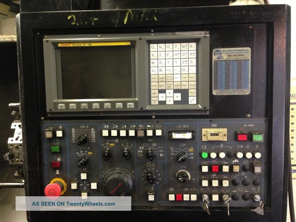 Case 1845c Specs >> 2005 Amera Seiki T - 415 Cnc Lathe Turning Center Fanuc ...