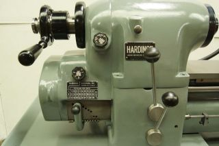 Hardinge Precision Toolroom Lathe photo