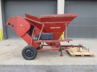 Pre Owned Royer 120 Topsoil Shredder Briggs And Stratton Gas Engine photo