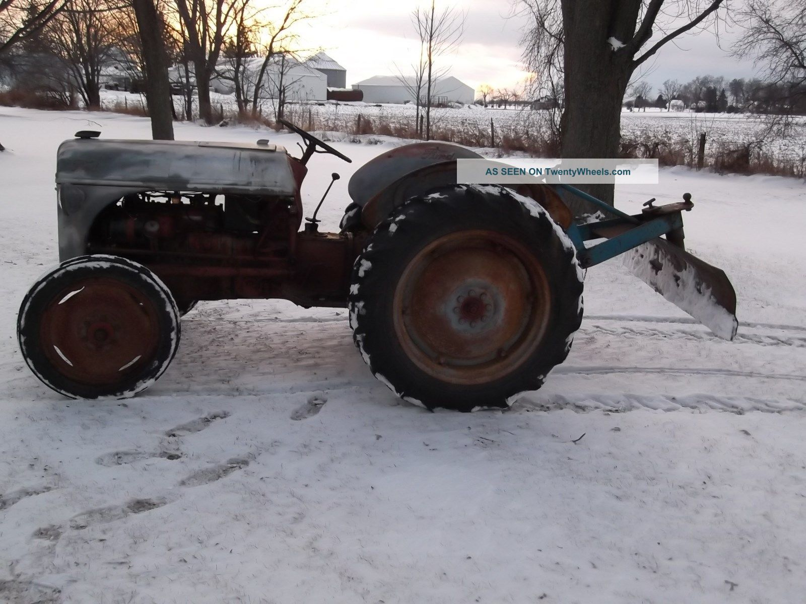 Ford 8n Tractor Attachments : Ford n tractor and implements