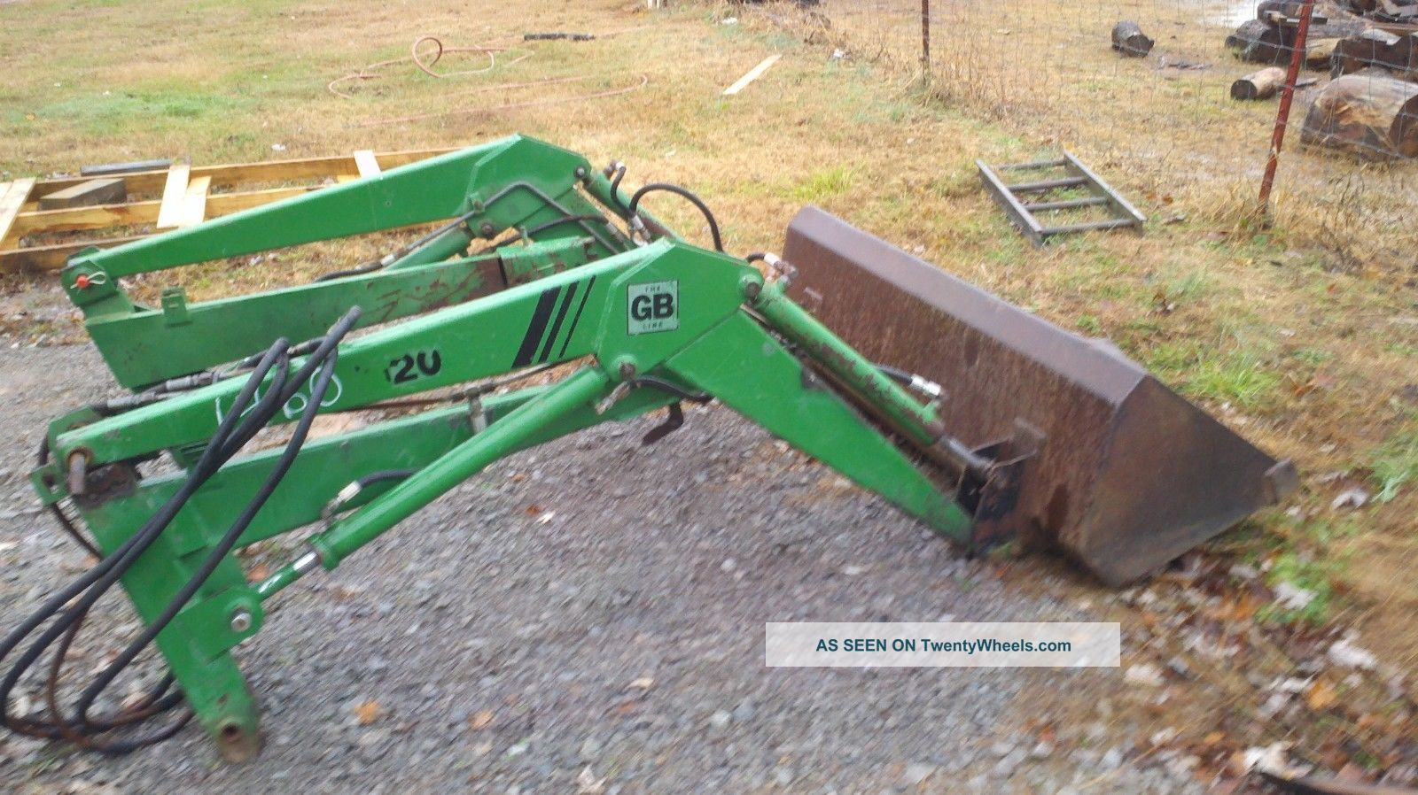 Great Bend Front End Loader For John Deere And Tractors Lgw