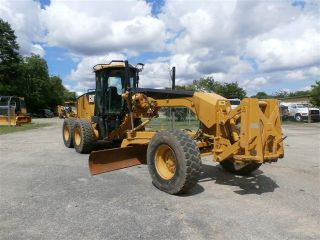 2010 Caterpillar 140m Vhp Motorgrader photo