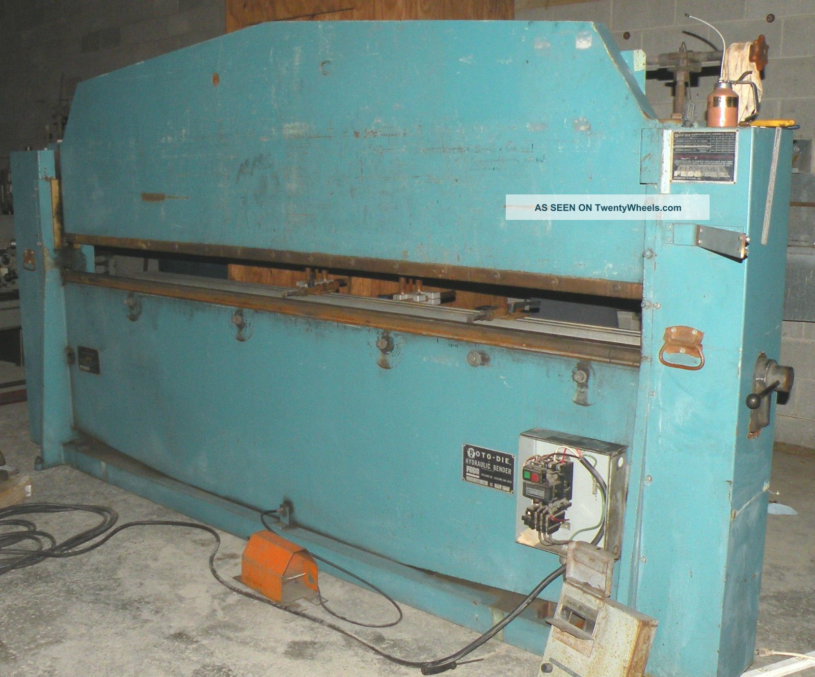 Roto - Die Hydraulic Bender - Model 15,  With Auto Gauge Cnc 150 Metal Bending Machines photo