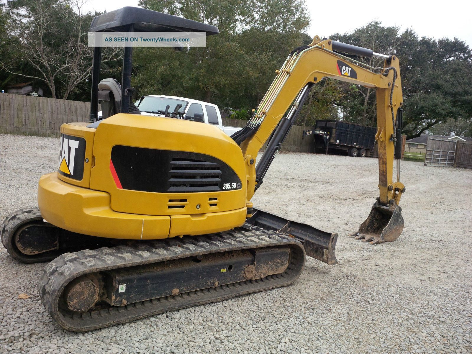 2011 Cat Mini Excavator 305  5d Cr
