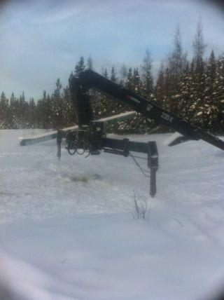 Hiab 235k Drywall Crane photo