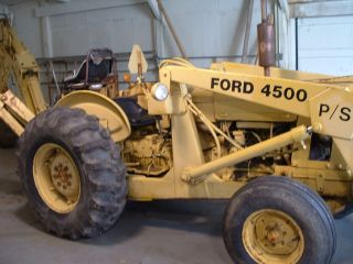 Ford Loader Tractor photo