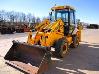 2007 Jcb 2cx Tractor Loader Backhoe,  Cab,  4x4,  4in1 Loader Bucket, photo