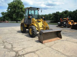 Holland Lw50b Rubber Tired Wheel Loader With Cab photo