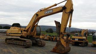 2000 John Deere 330 Lc Hydraulic Construction Excavator Backhoe Machine. . . photo