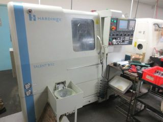 Hardinge Talent 8/52 Cnc Turning Center With Live Tools photo