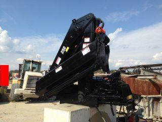 Powerful Hiab 250 - 2 Knuckleboom Crane photo