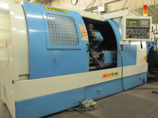 Cnc Lathe Fanuc Turning Center Machine 12 Chuck Conveyer Supermax No Rsv photo