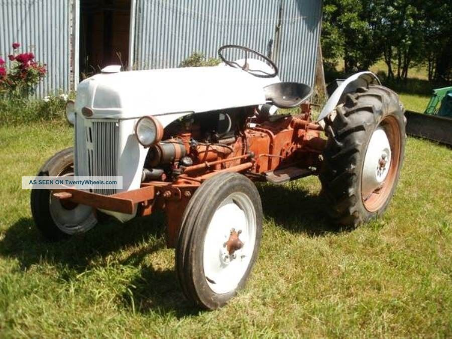 Old Ford Farm Tractors : Vintage s ford n tractor great christmas present