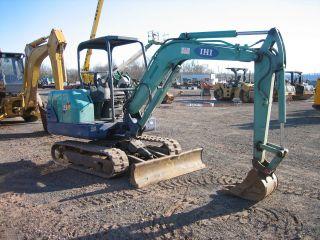 Ihi 35n 2004 Mini Excavator Only 2800 Hrs,  3 Cyl.  Diesel 10 ' Dig photo