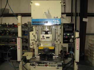 35 Ton Komatsu Obs Press - Turnkey Workstation photo