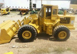 Cat 966 C Wheel Loader 4 Yd Diesel Engine Powershift Cab photo