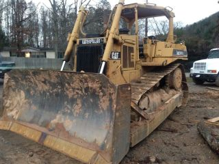 1994 Caterpillar D6h Dozer Su Blade 8800hrs Draw Bar,  Diff Steer,  Orops photo