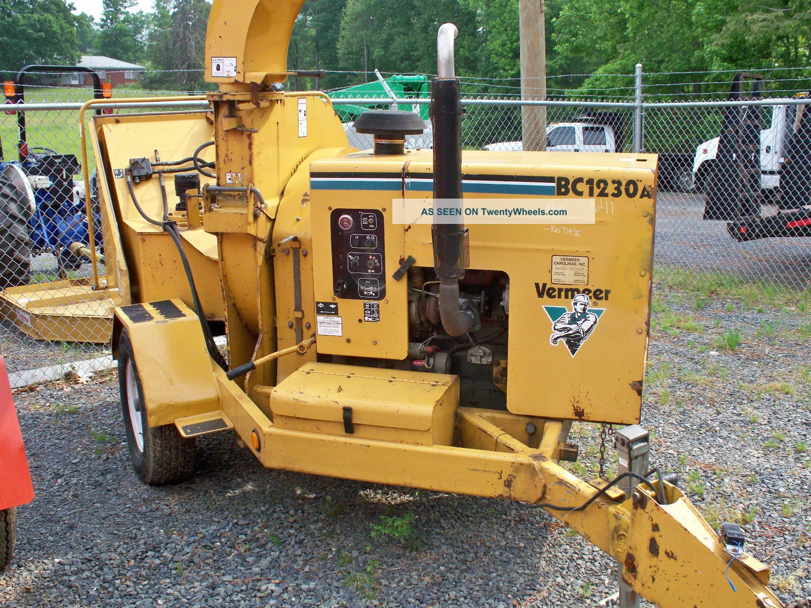 Vermeer Bc1230a Chipper