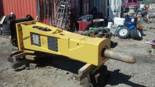 Indeco Hp10000 Hydraulic Hammer Breaker 10,  000 Impact Energy photo