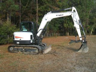 Bobcat E - 80 Excavator photo