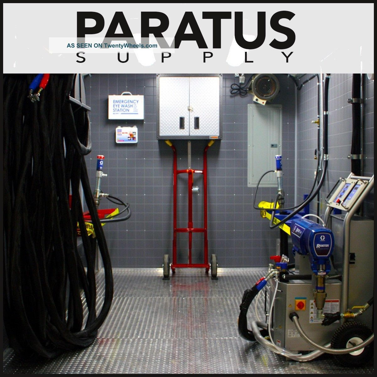 Spray Foam Rig - The Xtr2 Spray Foam Rig By Paratus - 20 ' Turn - Key 3 Set Rig Insulation photo