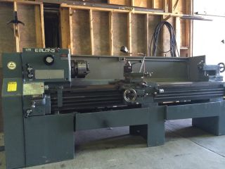19x80 Leblond Servoshift Lathe Late Model With 3