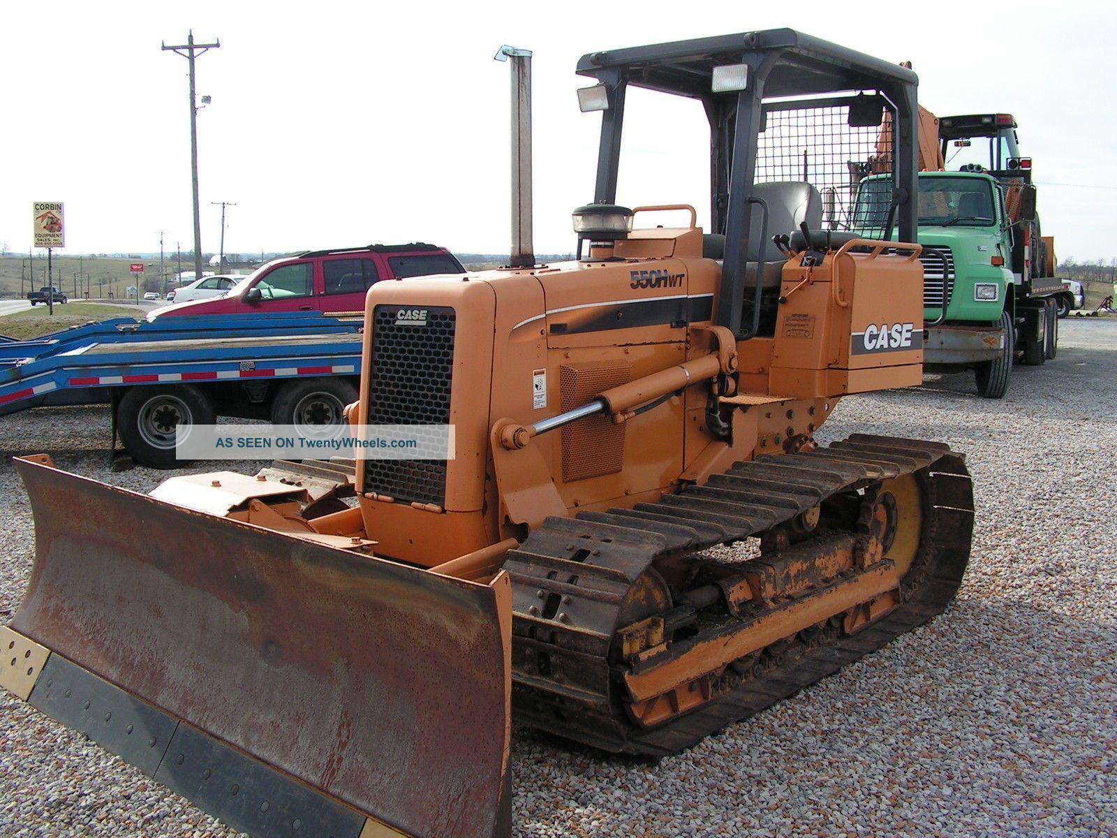 2006 Case 550h Dozer (wt Model)