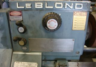 Leblond Servo Shift Lathe photo
