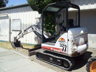 2006 Bobcat 325 - G Mini Excavator 1600 H. photo