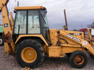 John Deere 310d Loader Backhoe photo
