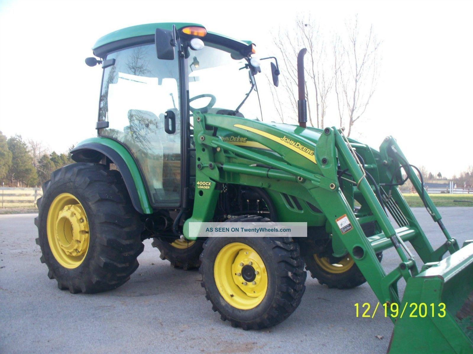 John Deere Backhoe Wheels : John deere cab tractor wheel drive