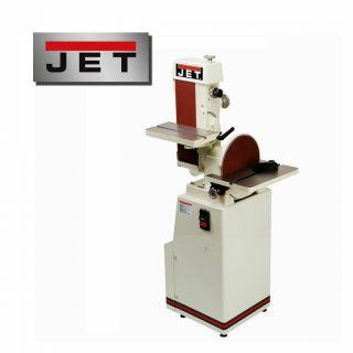 Jet Industrial Belt & Disc Grinder / Sander Model J - 4200a 1.  5 Hp,  1 Ph,  115v photo