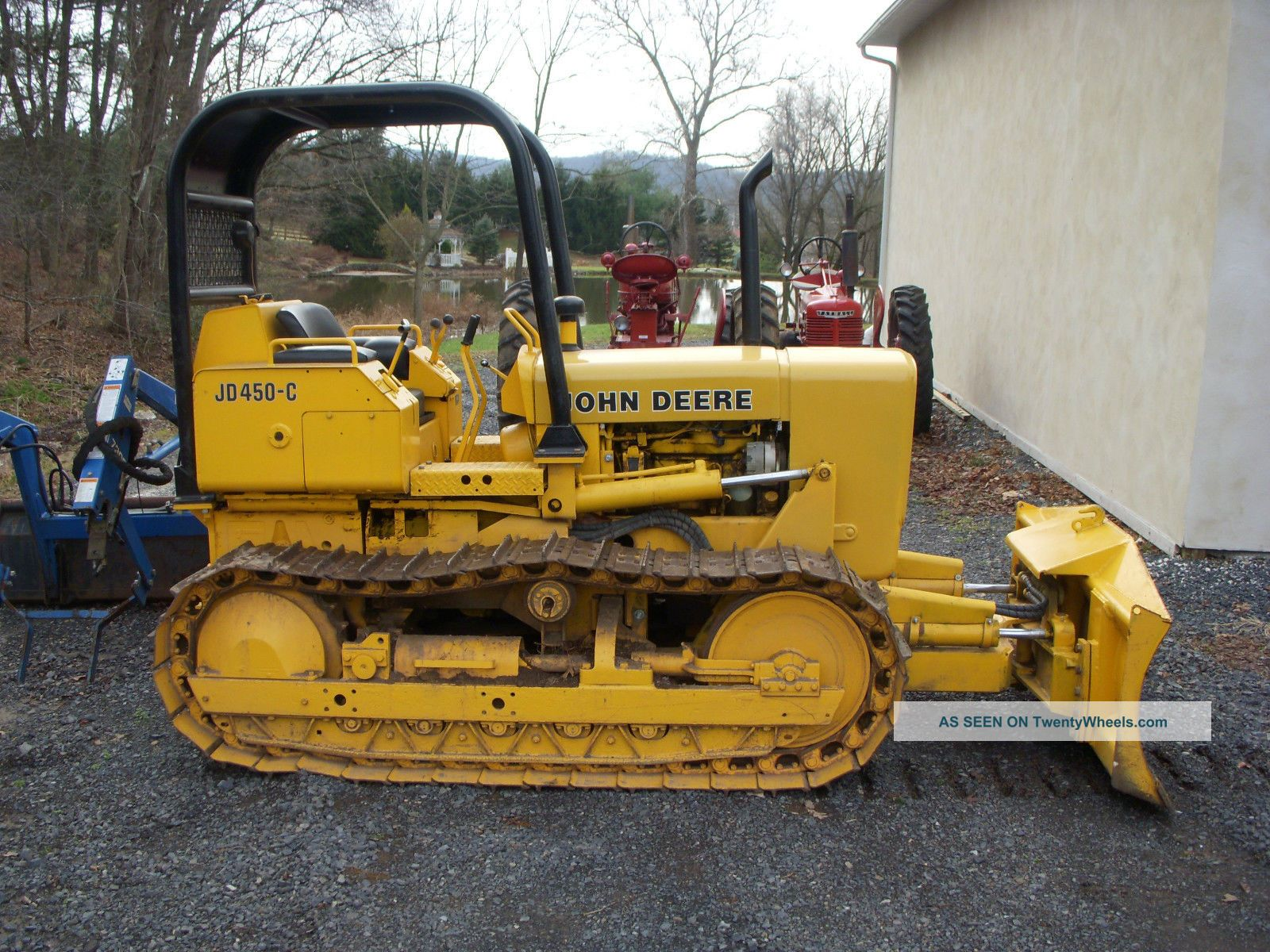 450d john deere dozer for sale autos post Craigslist port huron farm and garden