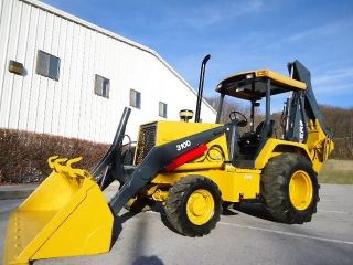 1996 John Deere 310d 4x4 Loader Backhoe photo