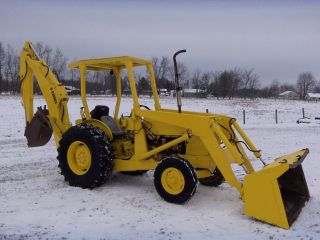 Ford 4500 Backhoe Loader - Diesel - 3129 Hours photo