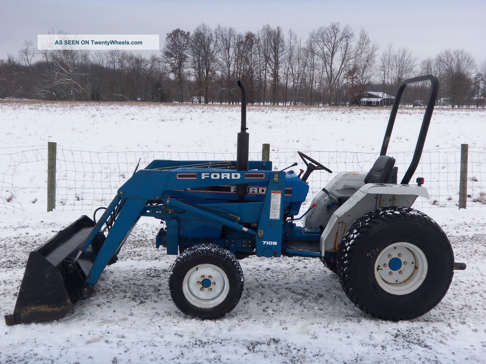 ford 1715 compact tractor \u0026 loader diesel 4x4 900 hours Ford 9N Wiring-Diagram