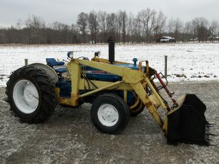 Ford 3000 Tractor Amp Front Loader Diesel Photo