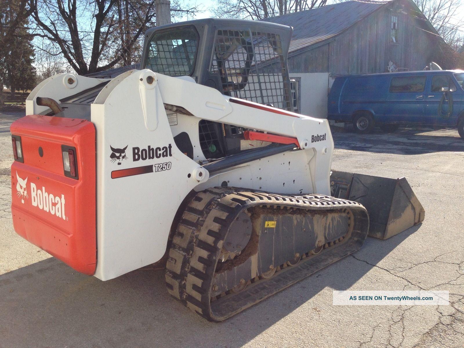 Bobcat Skid Steer Track Loader : Bobcat t skid steer track loader nicest on the