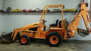2007 Allmand Tb425 Kubota Diesel Backhoe photo