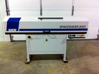 Smw Spacesaver 2003 Barfeeder,  Year 2004,  Spac.  2003 Removed From Daewoo Lathe photo