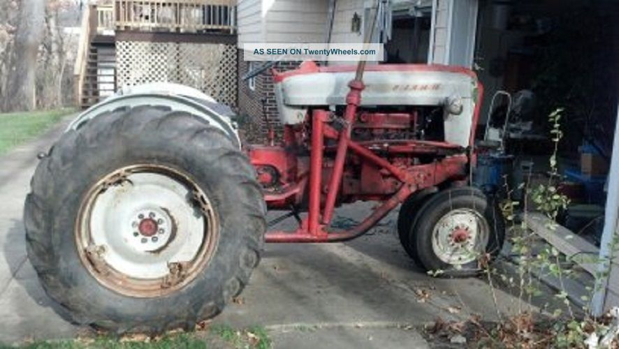 Ford 901 Powermaster Tractor : Ford powermaster transmission