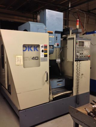 Cnc Vertical Machining Center Okk Pcv 40ii photo