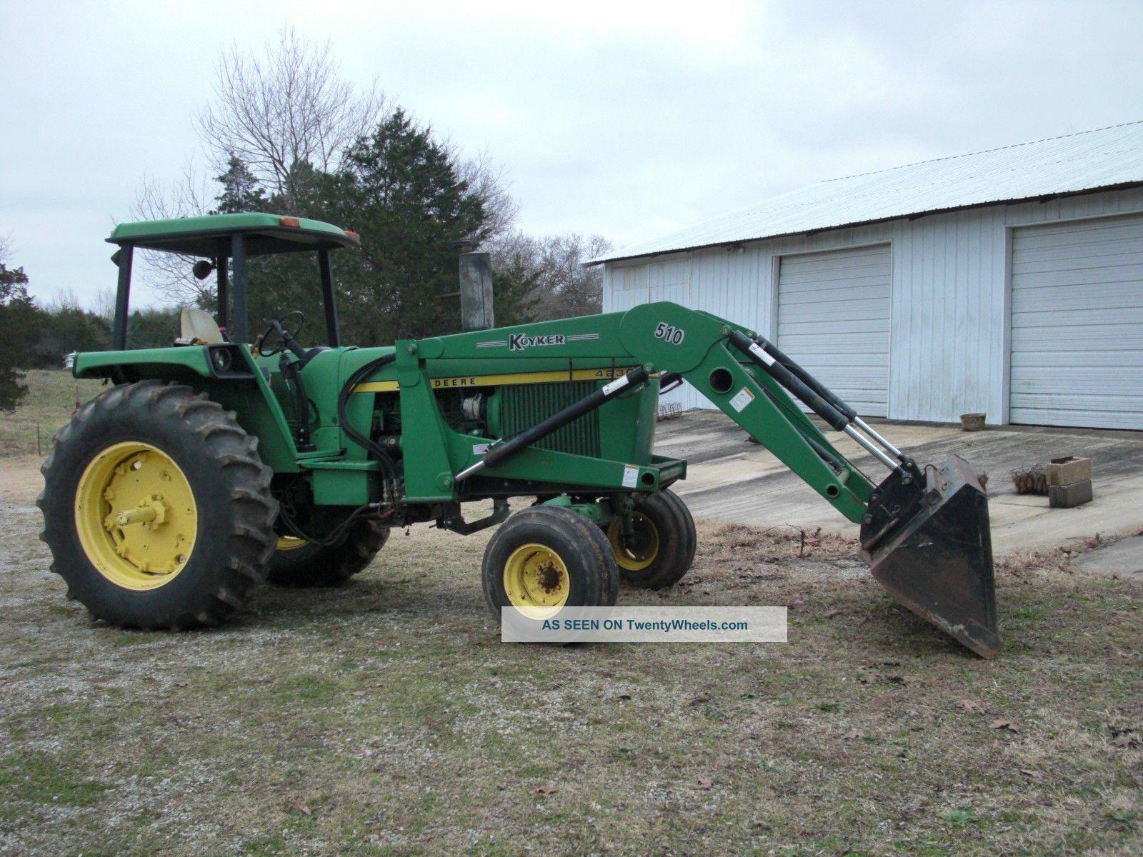 4230 John Deere : John deere tractor
