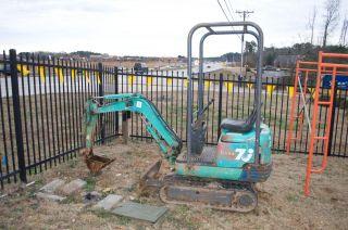 Ihi 7j Compact Mini Excavator photo