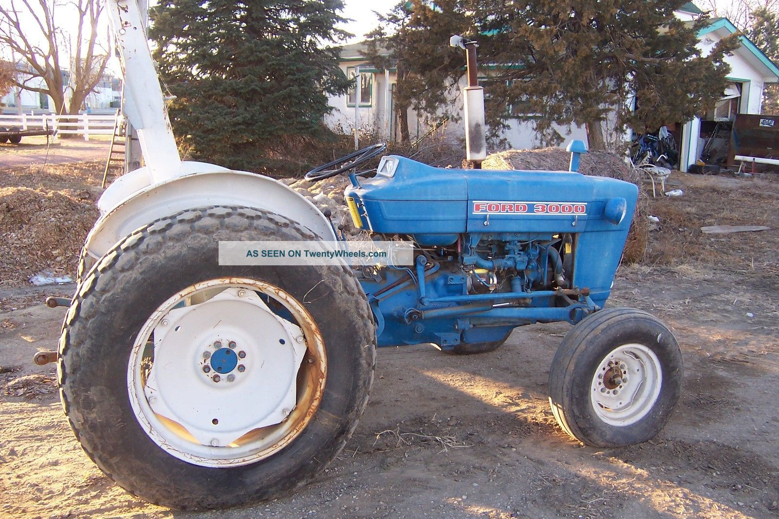 1965 Ford 3000 Tractor : Ford tractor