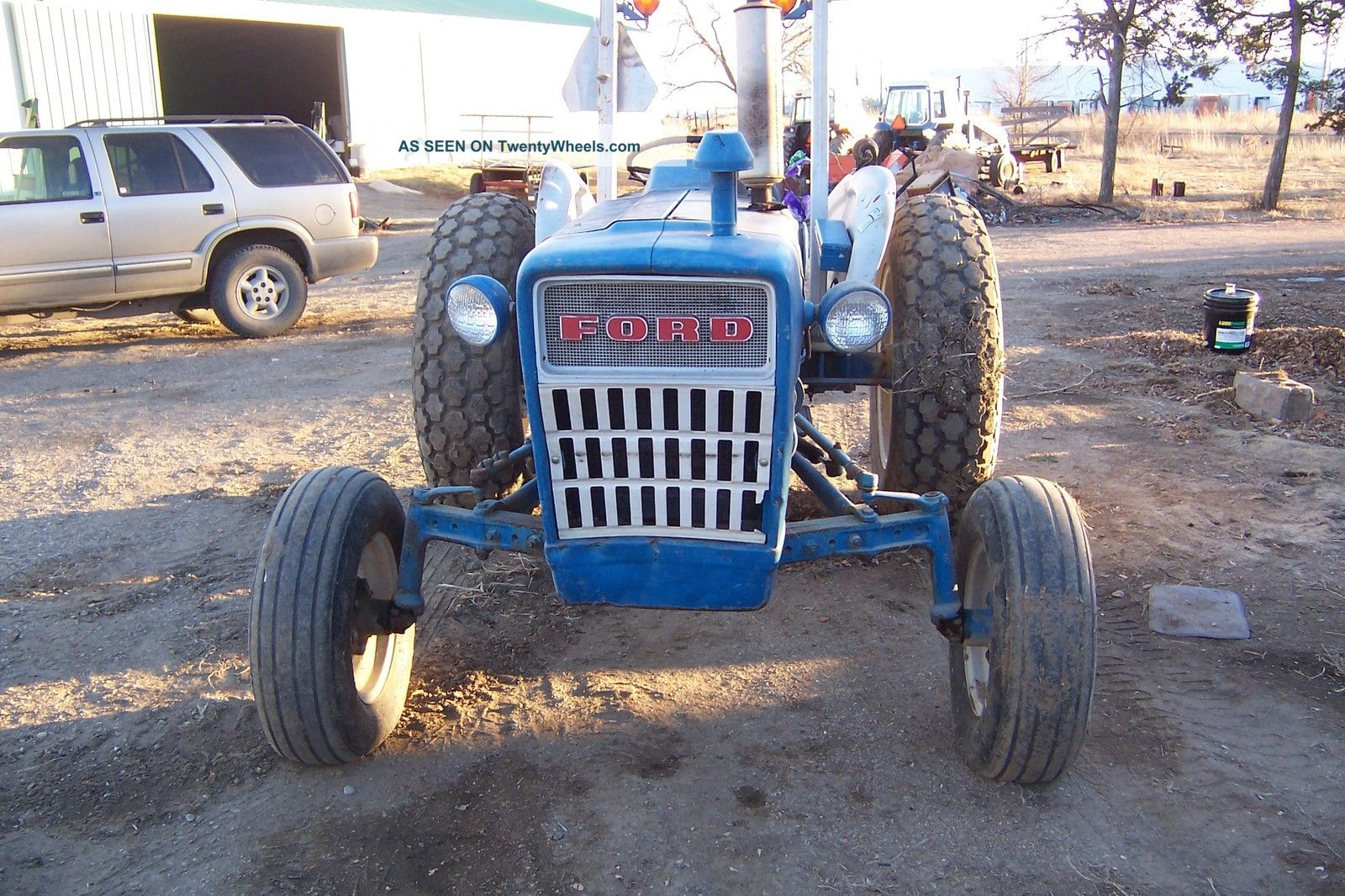 Ford 3000 Gas : Ford tractor